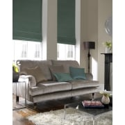 Aztec Light Teal Roman Blind