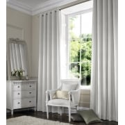 Aztec White Curtain