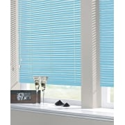 Baby Blue 25mm Standard Aluminium Venetian Window Blind