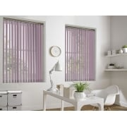 Baby Pink Bermuda 89mm Vertical Window Blind