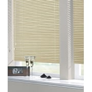 Biscuit 25mm Standard Aluminium Venetian Window Blind
