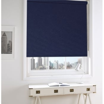 Blue Bermuda Roller Window Blind