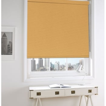 Burnt Orange Bermuda Blackout Roller Window Blind