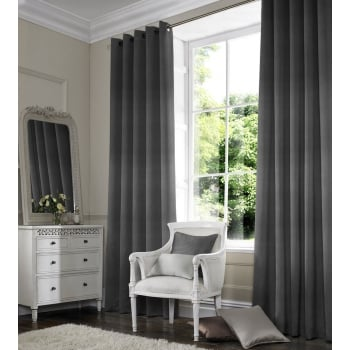 Charcoal Express Curtain