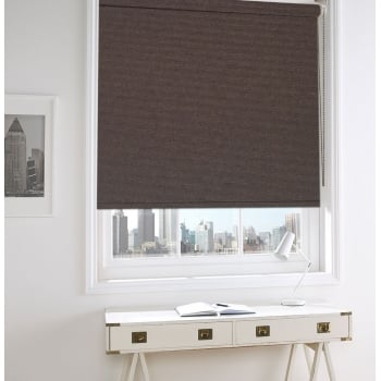 Chocolate Brown Bermuda Blackout Roller Window Blind