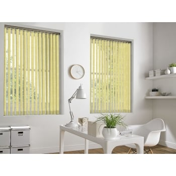 Cracked Ice Gold 89mm Blackout Vertical Window Blind