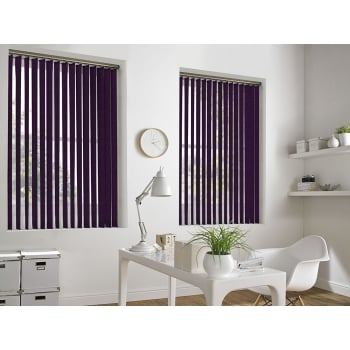 Cracked Ice Purple 89mm Vertical Window Blind