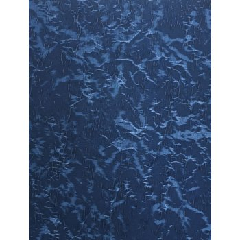 Cracked Ice Sea Blue Blackout Roller Window Blind