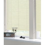 Cream 25mm Standard Aluminium Venetian Window Blind