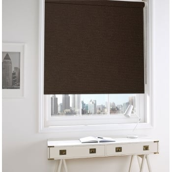 Dark Brown Bermuda Roller Window Blind
