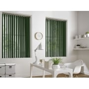 Forest Green Bermuda 89mm Vertical Window Blind