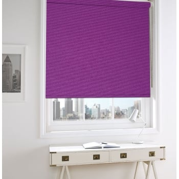 French Violet Bermuda Roller Window Blind