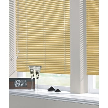 Glitter Gold 25mm Standard Aluminium Venetian Window Blind
