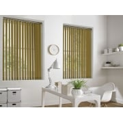 Golden Poppy Bermuda 89mm Vertical Window Blind