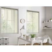 GX Lite Ivory Fire Retardant 89mm Blackout Vertical Window Blind