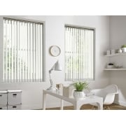 GX Lite Magnolia Fire Retardant 89mm Blackout Vertical Window Blind