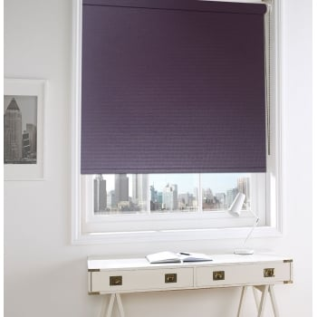 GX Lite Purple Fire Retardant Blackout Roller Window Blind