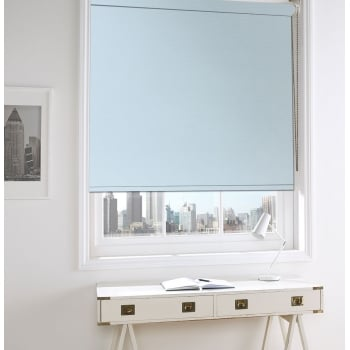GX Lite White Fire Retardant Blackout Roller Window Blind