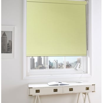 GX Lite Yellow Fire Retardant Blackout Roller Window Blind