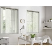 Hessian Cream 89mm Vertical Window Blind