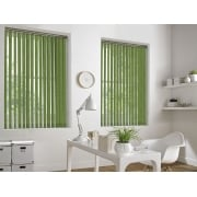 Hessian Lime 89mm Vertical Window Blind