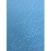Ice Blue Cracked Ice Roller Window Blind