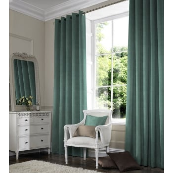 Inca Light Teal Curtain