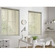 Ivy Biscuit 89mm Vertical Window Blind