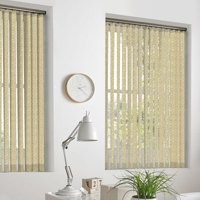 Lovely ... Ivy Light Beige 89mm Vertical Window Blind ...