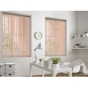 Ivy Peach 89mm Vertical Window Blind