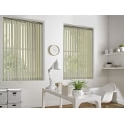 Neon Beige 89mm Blackout Vertical Window Blind