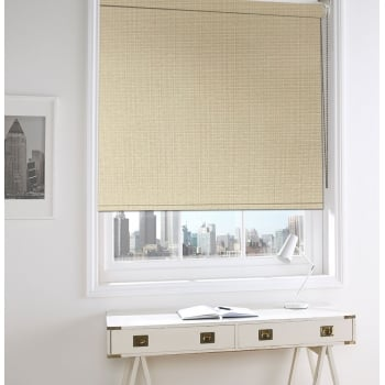 Neon Beige Blackout Roller Window Blind