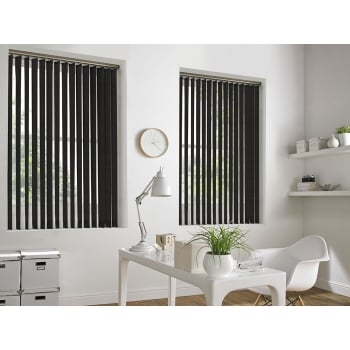 Neon Brown 89mm Blackout Vertical Window Blind
