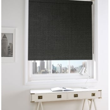 Neon Brown Blackout Roller Window Blind