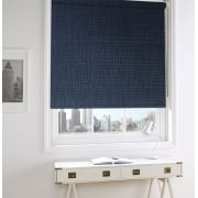 Neon Dark Denim Blackout Roller Window Blind
