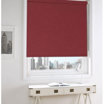 Nightfire Red Bermuda Blackout Roller Window Blind
