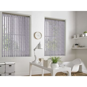 Palm Beach Grey 89mm Vertical Window Blind