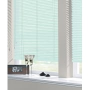 Pastel Green 25mm Standard Aluminium Venetian Window Blind