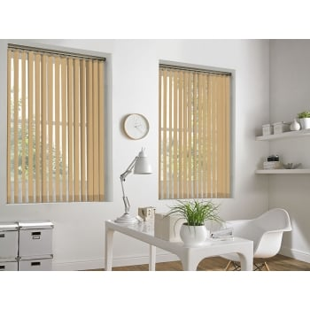 Peach Bermuda 89mm Vertical Window Blind