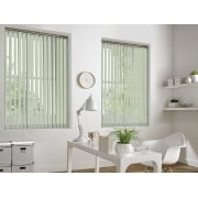 Portland Light Green 89mm Vertical Window Blind