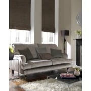 Rustica Chocolate Roman Blind