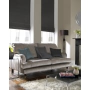 Rustica Gun Metal Grey Roman Blind
