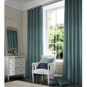 Rustica Light Teal Curtain