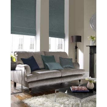 Rustica Light Teal Roman Blind