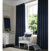 Rustica Royal Blue Curtain