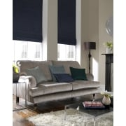 Rustica Royal Blue Roman Blind
