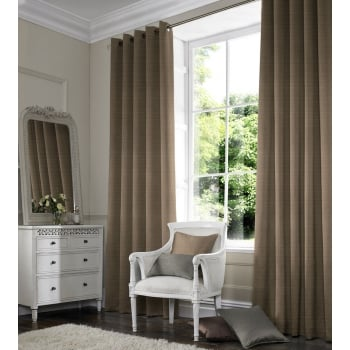 Satin Mocha Curtain