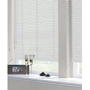 Satin White 25mm Standard Aluminium Venetian Window Blind