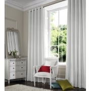 Satin White Curtain