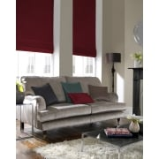 Shangtung Cerise Red Roman Blind